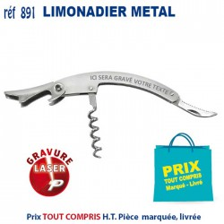 LIMONADIER METAL REF 891 891 ARTICLES POUR LE VIN 1,80 €