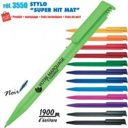STYLO SUPER HIT MAT REF 3550 3550 Stylos plastiques 0,22 €