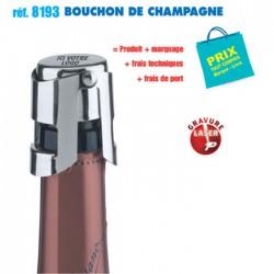 BOUCHON DE CHAMPAGNE REF 8193 8193 ARTICLES POUR LE VIN 2,26 €
