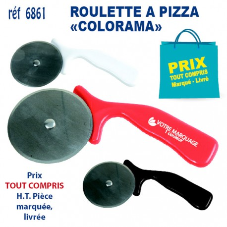 ROULETTE A PIZZA COLORAMA REF 6861 6861 ARTICLES POUR LA PIZZA 0,89 €