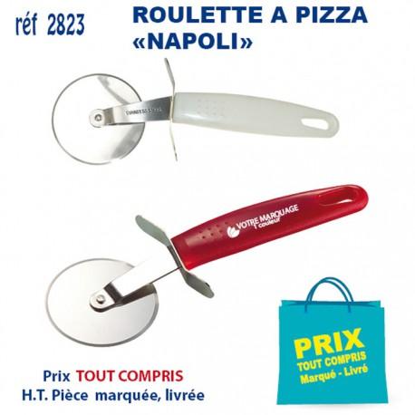 ROULETTE A PIZZA NAPOLI REF 2823 2823 ARTICLES PUBLICITAIRES POUR LA PIZZA PERSONNALISES  1,77€