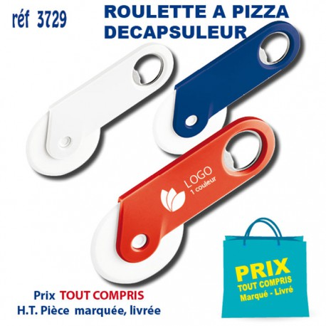ROULETTE A PIZZA DECAPSULEUR REF 3729 3729 ARTICLES POUR LA PIZZA 0,96 €