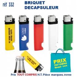 BRIQUET DECAPSULEUR REF 332 332 BRIQUETS - ALLUME TOUT 0,41 €