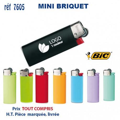MINI BRIQUET BIC REF 7605 7605 BRIQUETS - ALLUME TOUT 0,55 €