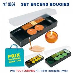 SET ENCENS ET BOUGIES REF 8054 8054 POUR LA MAISON 1,54 €
