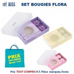 SET BOUGIES FLORA REF 8055 8055 POUR LA MAISON 1,14 €