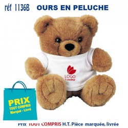 OURS EN PELUCHE REF 1136 B 1136 B JEUX - ENFANTS 4,68 €
