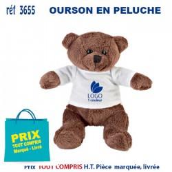 OURSON EN PELUCHE REF 3655 3655 JEUX - ENFANTS 2,46 €