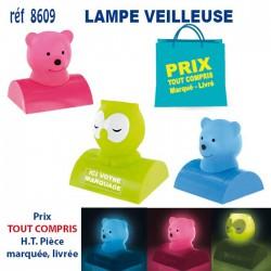 LAMPE VEILLEUSE REF 8609 8609 JEUX - ENFANTS 5,20 €