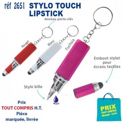 STYLO STYLET PORTE CLES REF 2651 2651 Stylos plastiques 0,57 €