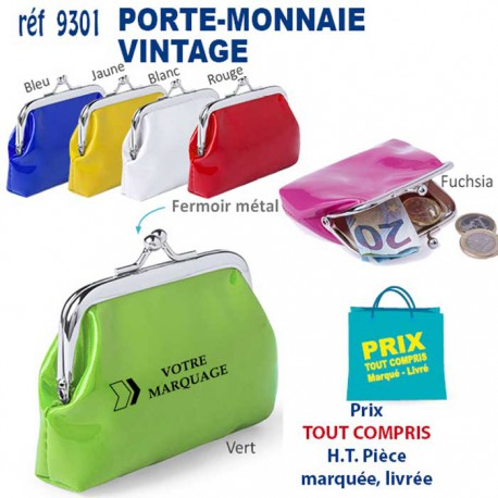 PORTE MONNAIE VINTAGE REF 9301 9301 PORTE MONNAIE 1,08 €
