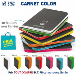 CARNET COLOR REF 3752