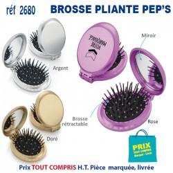BROSSE PLIANTE PEP'S REF 2680 2680 DIVERS : BROSSES - PEIGNES - VAPORISATEURS 1,20 €