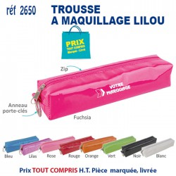 TROUSSE A MAQUILLAGE LILOU REF 2650 2650 TROUSSES 1,02 €