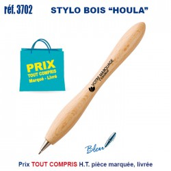 STYLO BOIS HOULA 3702 Stylos Bois, carton, recyclé 0,42 €