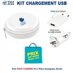 KIT CHARGEMENT USB REF 3703 3703 BATTERIE DE SECOURS - CHARGEUR 3,42 €