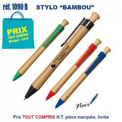 STYLO BAMBOU 1090Stylos Bois, carton, recyclé 0,39 €