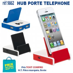 HUB PORTE TELEPHONE REF 9862 9862 HUB ET DIVERS USB 3,91 €