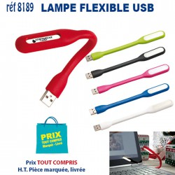 LAMPE FLEXIBLE USB REF 8189 8189 HUB ET DIVERS USB 0,89 €