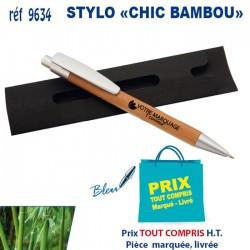 STYLO CHIC BAMBOU 9634 Stylos Bois, carton, recyclé 0,56 €