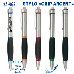 STYLO GRIP ARGENT REF 4082