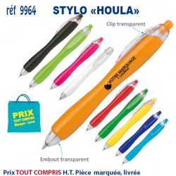 STYLO HOULA REF 9964 9964 Stylos plastiques 0,25 €