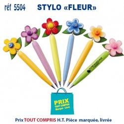 STYLO FLEUR REF 5504 5504 Stylos Bois, carton, recyclé 0,72 €