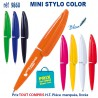 MINI STYLO COLOR REF 9860 9860 Stylos plastiques 0,20 €