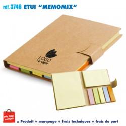 ETUI MEMOMIX REF 3746 3746 bloc notes - bloc mémos 0,64 €