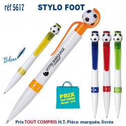 STYLO FOOT REF 5617 5617 Stylos plastiques 0,36 €