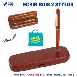 ECRIN BOIS 2 STYLOS REF 999 999 Stylos Bois, carton, recyclé 7,32 €