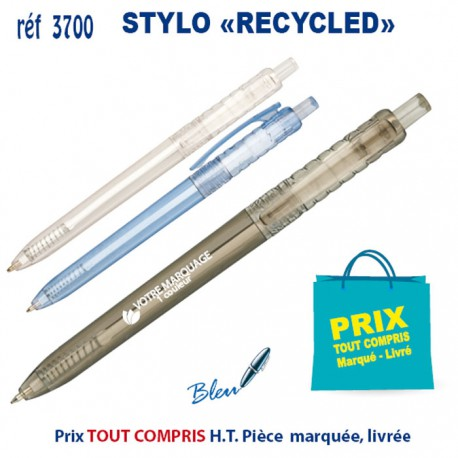 STYLO RECYCLED 3700 Stylos Bois, carton, recyclé 0,31 €