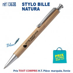 STYLO BILLE NATURA REF 1363B 1363B Stylos Bois, carton, recyclé 1,03 €