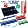 SET STYLOS COLORAMA REF 6433 6433 Ecrin set parure stylos 4,31 €
