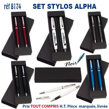 SET STYLOS ALPHA REF 8174 8174 Ecrin set parure stylos 2,87 €