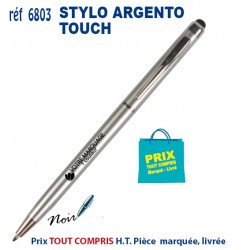 STYLO ARGENTO TOUCH REF 6803 6803Stylos plastiques 0,41 €
