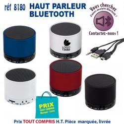 HAUT PARLEUR BLUETOOTH REF 8180 8180 ECOUTEURS - HAUT PARLEUR 9,65 €