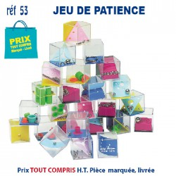 JEUX DE PATIENCE REF 53 53 JEUX - ENFANTS 0,37 €