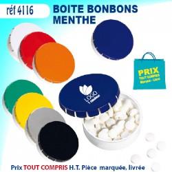 BOITE BONBONS MENTHE REF 4116 4116 JEUX - ENFANTS 0,57 €