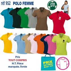 POLO FEMME 210 GRS 952 POLO 7,43 €