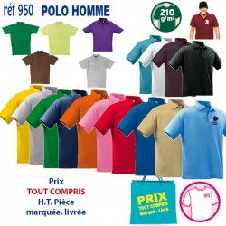 POLO HOMME 210 GRS
