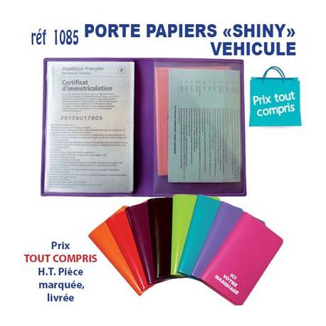 PORTE PAPIERS VEHICULE SHINY REF 1085 1085 TOUT POUR L'AUTO OBJETS PUBLICITAIRES  0,49€