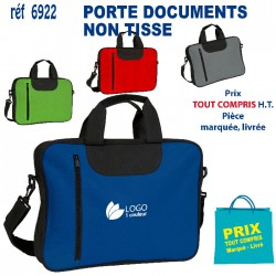 PORTE DOCUMENTS EN NON TISSE REF 6922