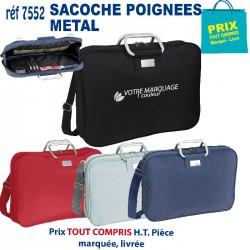 SACOCHE POIGNEES METAL REF 7552