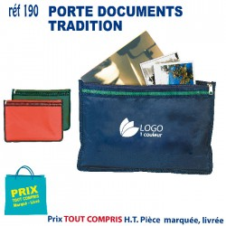 PORTE DOCUMENTS TRADITION REF 190 190 SACOCHES - PORTE DOCUMENTS 1,06 €