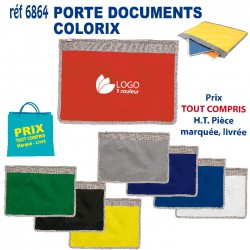 PORTE DOCUMENTS COLORIX REF 6864 6864 SACOCHES - PORTE DOCUMENTS 1,67 €
