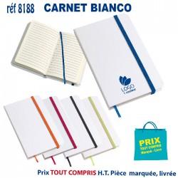CARNET BIANCO REF 8188 8188 Carnet 0,92 €