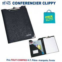 CONFERENCIER CLIPPY REF 475 475 conférenciers 4,40 €