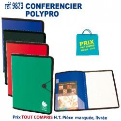 CONFERENCIER POLYPRO REF 9873 9873 conférenciers 3,43 €