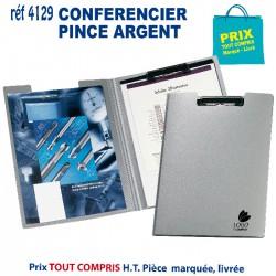 CONFERENCIER PINCE ARGENT REF 4129 4129 conférenciers 2,49 €